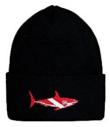 Shark Dive Flag Knit Hat