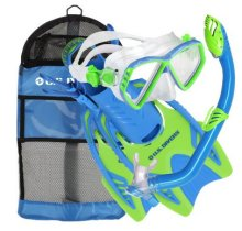 best kids snorkeling set - a US divers model