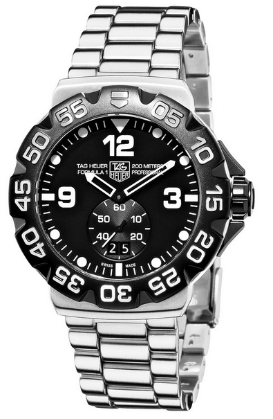 Tag Heuer dive watch - top end choice for best dive watch