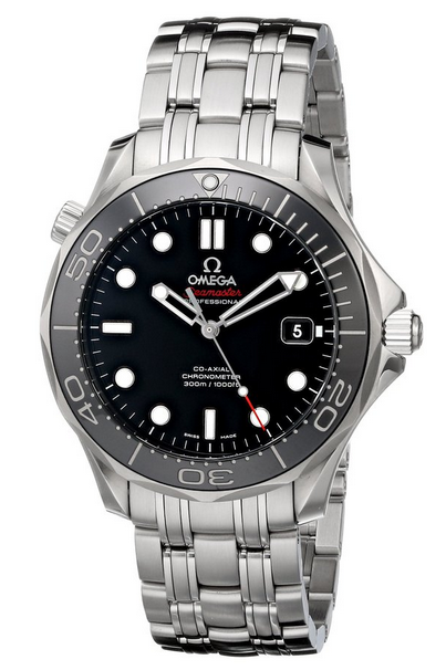 This Omega watch is a pick for best dive watch in luxury category