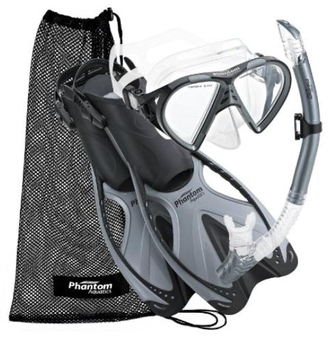 Our pick for best basice snorkel set - A Phantom model