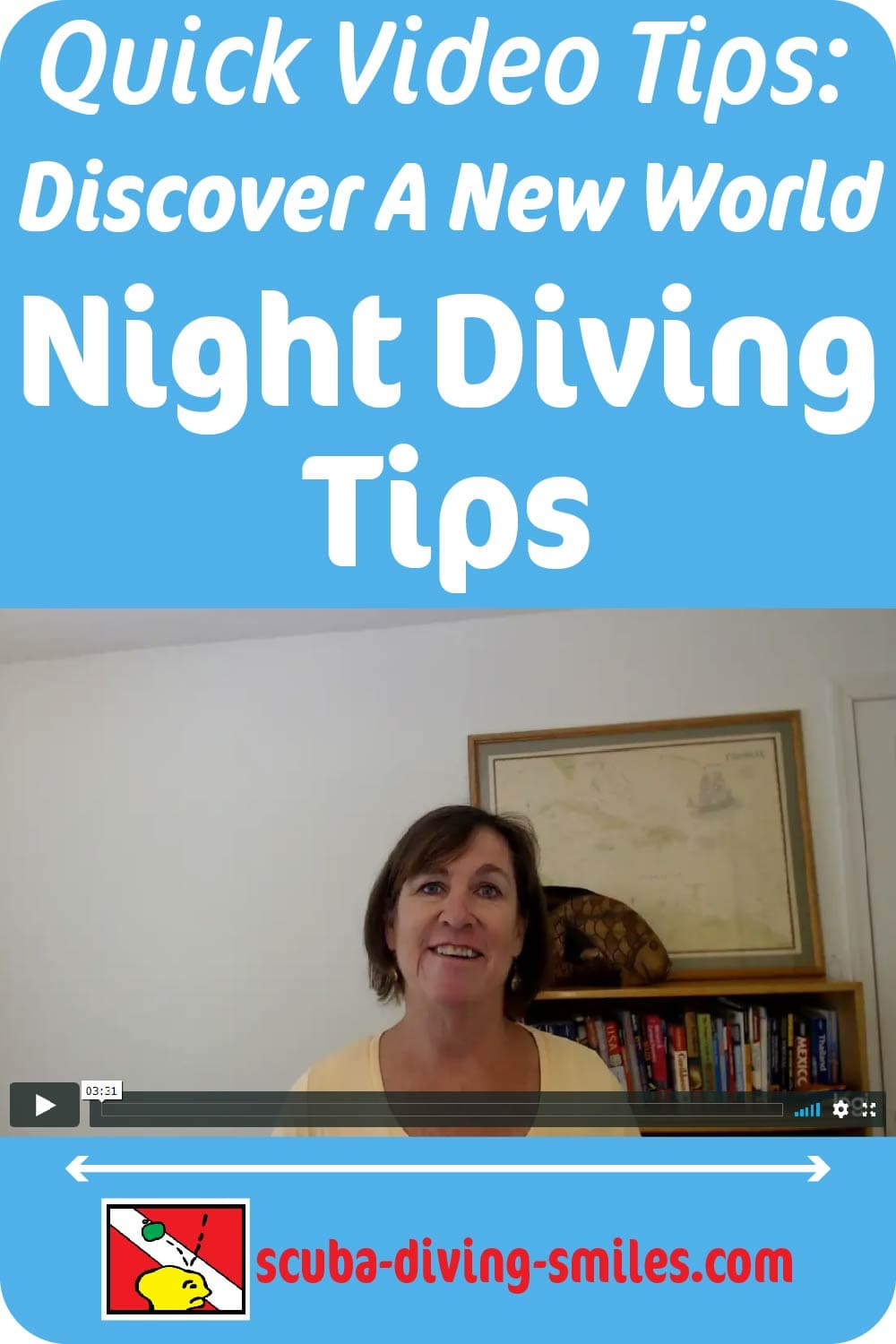 Night scuba diving Tips