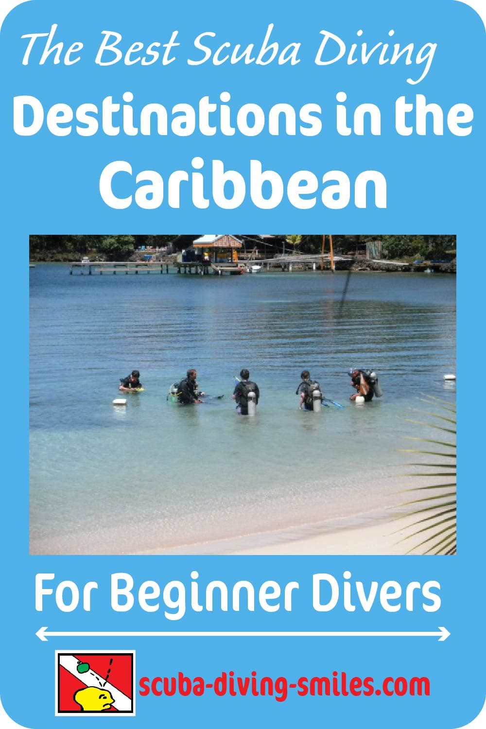 best scuba diving destinations in the caribbean graphic