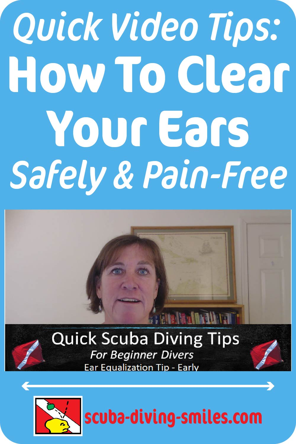 Quick video with ear equalization tips when scuba diving. How to clear your ears. #scubadiving #scubadivingtips #earclearing #scubadivingsmiles