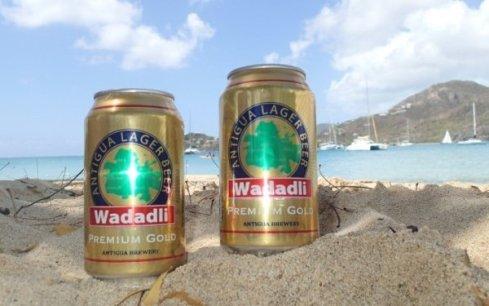 Wadadli beer in Antigua