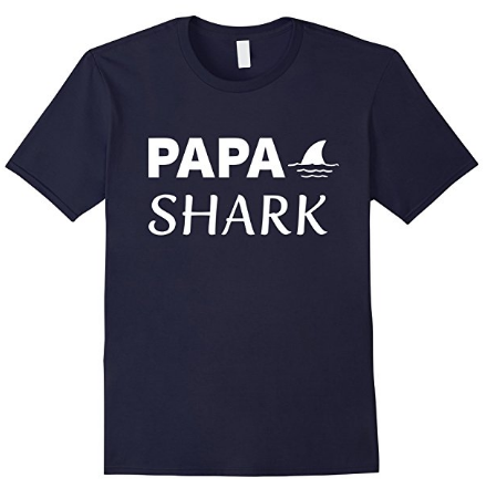 Papa shark t shirt of shark family tshirts