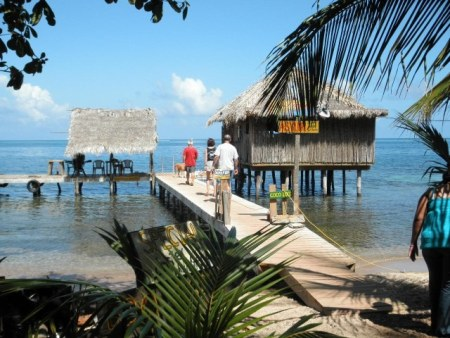 the asylum bar on roatan; also called la sirena