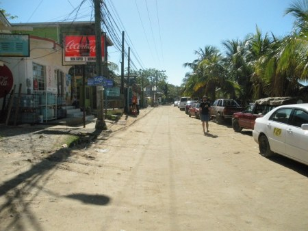 main street, west end, roatan honduras