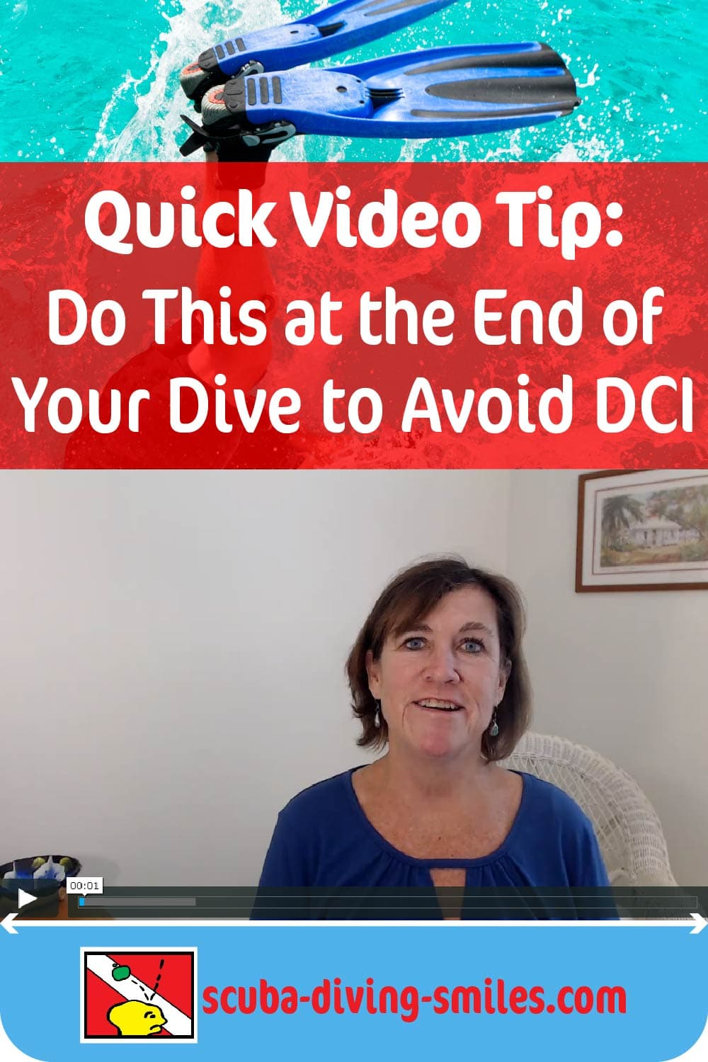 Scuba diving safety video tips for beginner scuba divers