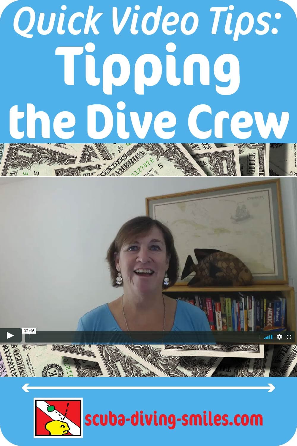 guidelines on tipping when scuba diving