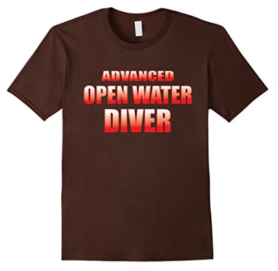 Scuba diving Advanced Open Water Diver tshirt