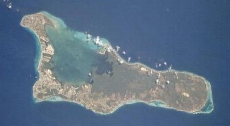 Aerial view of Grand Cayman. Plan your dive trip to the Cayman Islands.