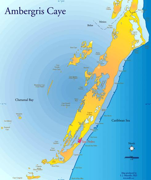 ambergris caye belize map Ambergris Caye Map Start Planning That Trip ambergris caye belize map