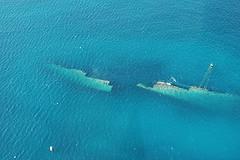 aruba diving - antilla wreck