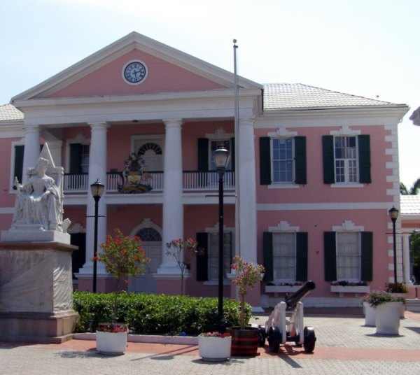 A governmant house in Nassau, Bahamas