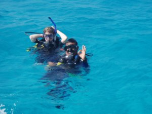 Scuba diving with snorkel attached - a highly debated subject