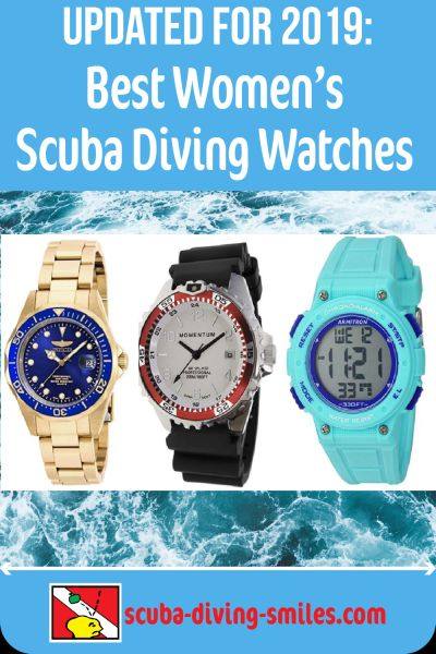 Best women's scuba diving watches 2019