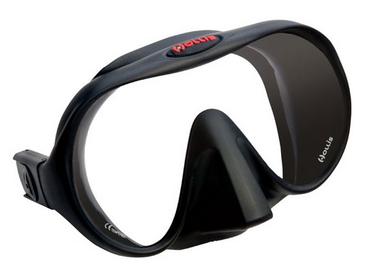 Best scuba mask - a Hollis mode