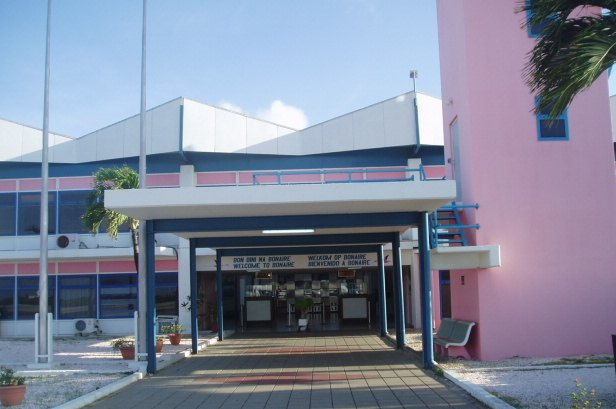 Flamingo International Airport in Bonaire