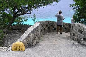 Bonaire diving - 1,000 steps dive site
