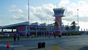 bonaire scuba diving - Flamingo International Airport