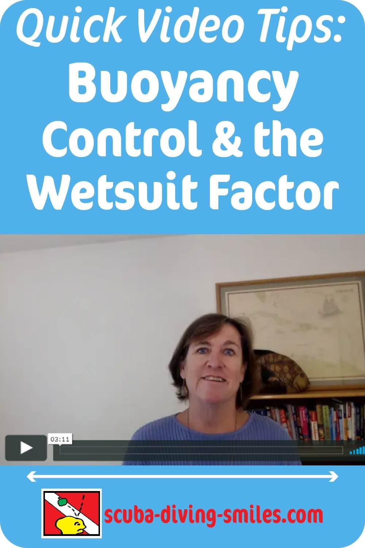 buoyancy control video tip