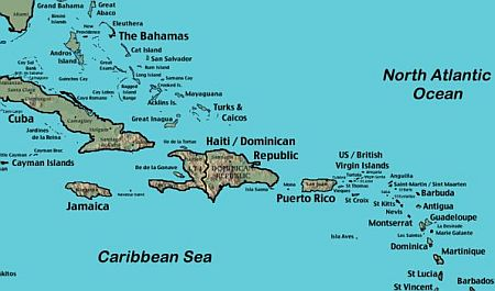 Jost Van Dyke Island Do You Even Need A Map - Us and british virgin islands map