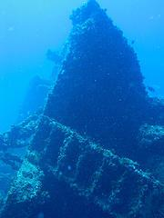 Wreck of the Chikuzen, Tortola, BVI