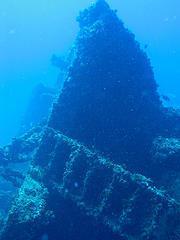 Wreck of the Chikuzen, Tortola, BVI