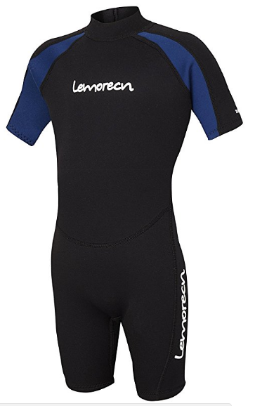 Best kids wetsuit pick - a Lemorecn model