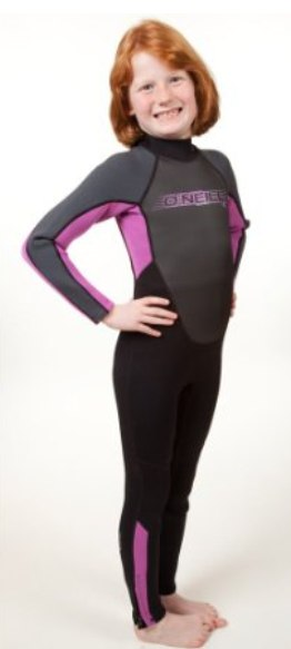 Best kids wetsuit pick - an O'neill model
