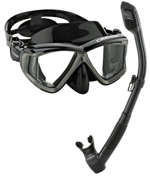 Best mask and snorkel set Cressi
