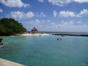 Beach at Breezes Resort, Curacao