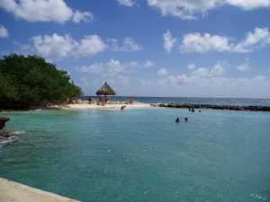 Beach at Breezes Resort, Curacao