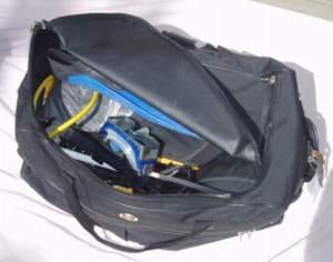 Scuba diving gear bag