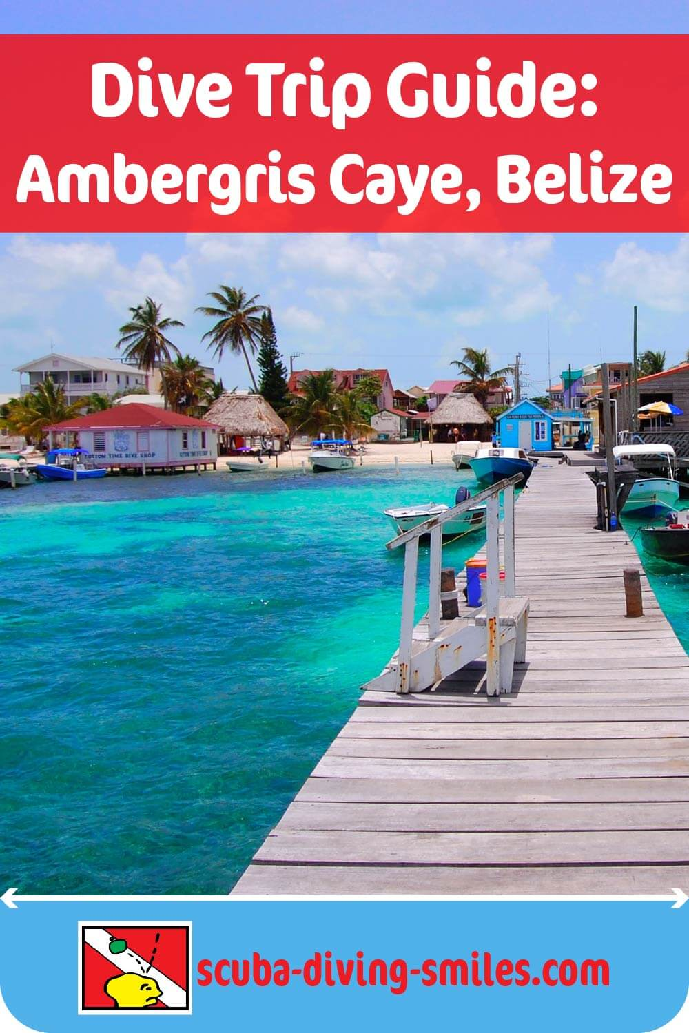 scuba diving guide to ambergris caye, belize