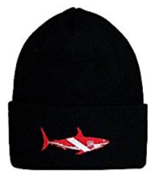 Shark Dive Flag Knit Hat