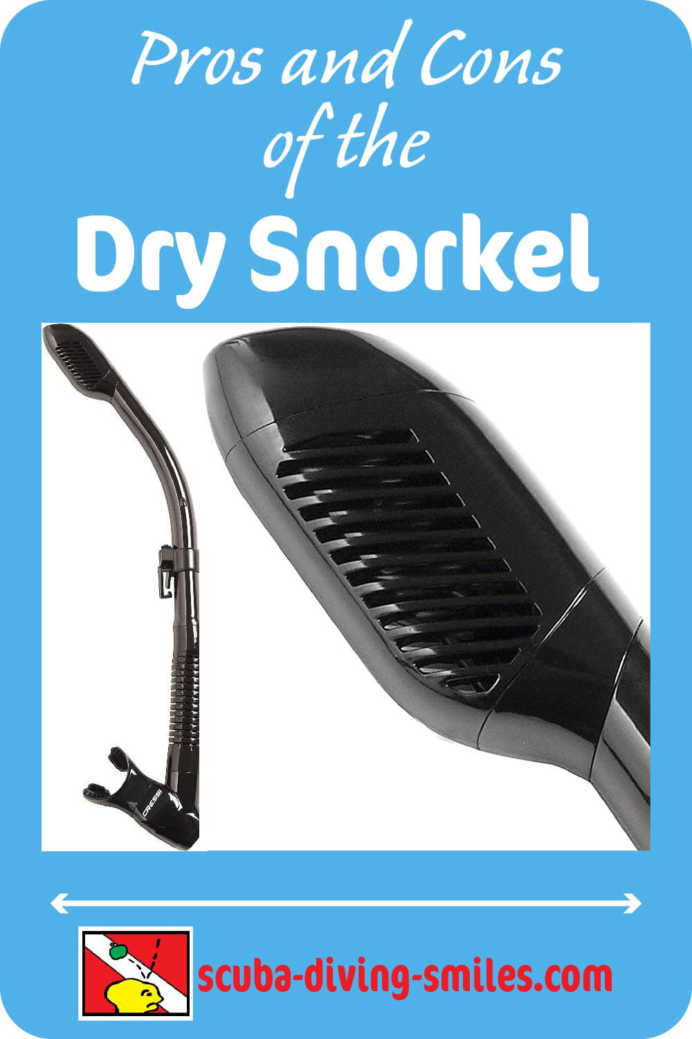 Pros and cons of a dry snorkel
