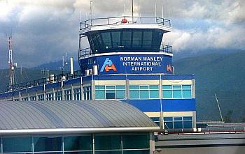 Norman Manley Airport in Kingston Jamaica