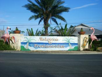 flights to turks and caicos - welcome sign
