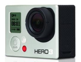 Go Pro Hero3 waterproof