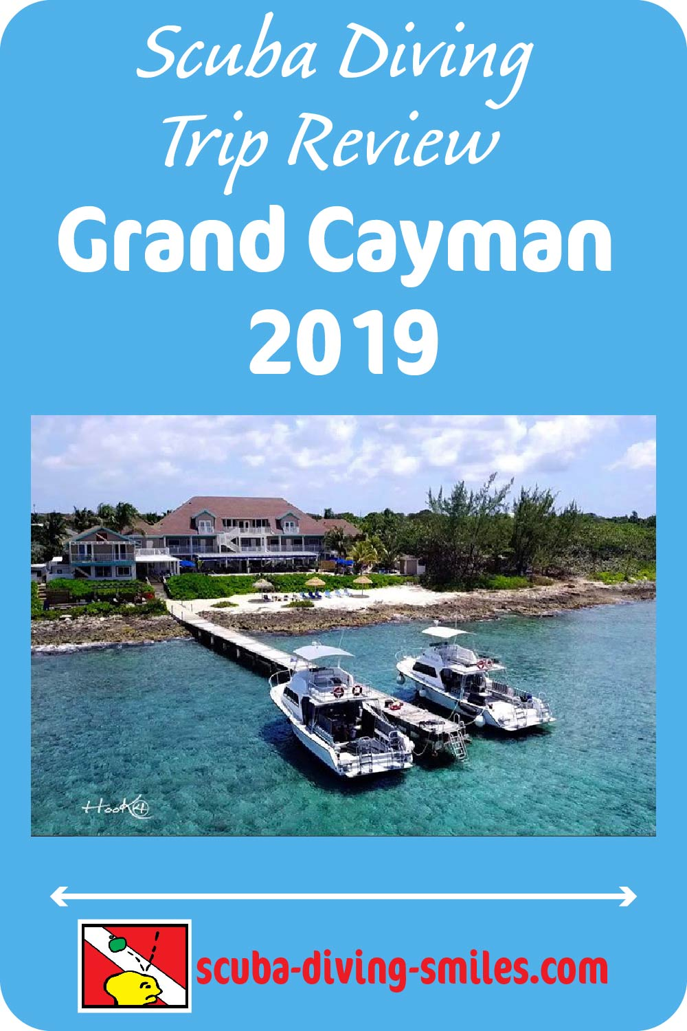 Grand Cayman Scuba Diving Trip Report 2019. Read review of diving and accommodations, including a review diving at the popular Stingray City site.  #scubadiving #grandcayman #scubadivingsmiles