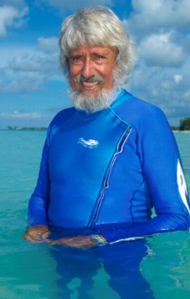Jean Michel Cousteau founded the Ocean Futures Society