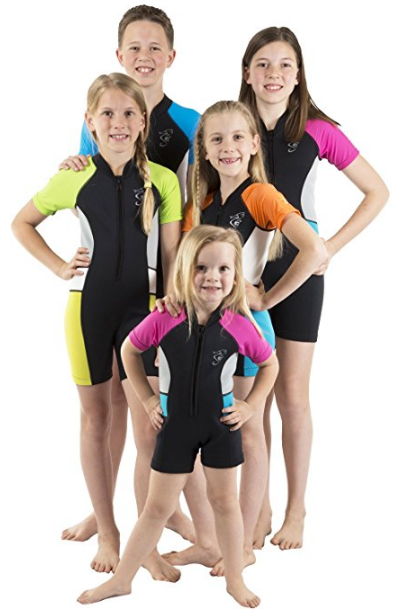 Pick for best value childrens wetsuit - a Seavenger model