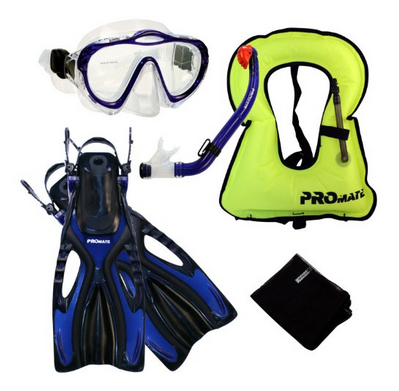 Best kids complete snorkel set - a Promate model