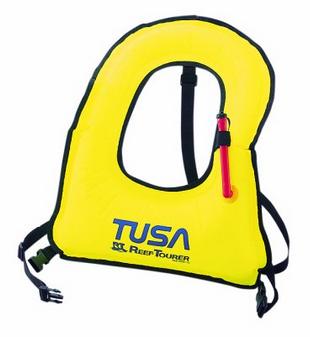 Best Kids Snorkeling Vest - a Tusa model