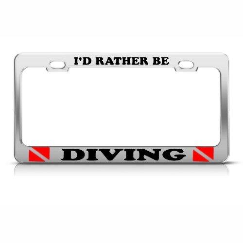 scuba diving license frame