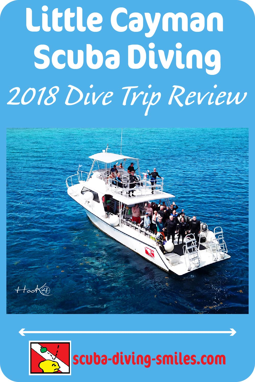 Little Cayman Island scuba diving trip review.