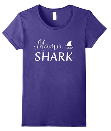 Mama shark t shirt of shark family tshirts