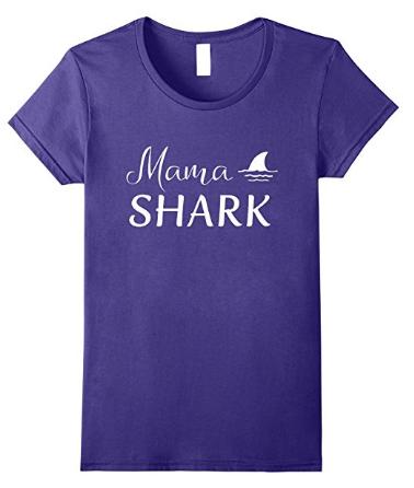 Mama shark t shirt of shark family tshirts